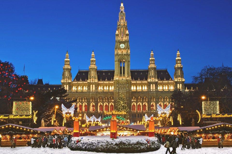 Kerst in Wenen, Oostenrijk