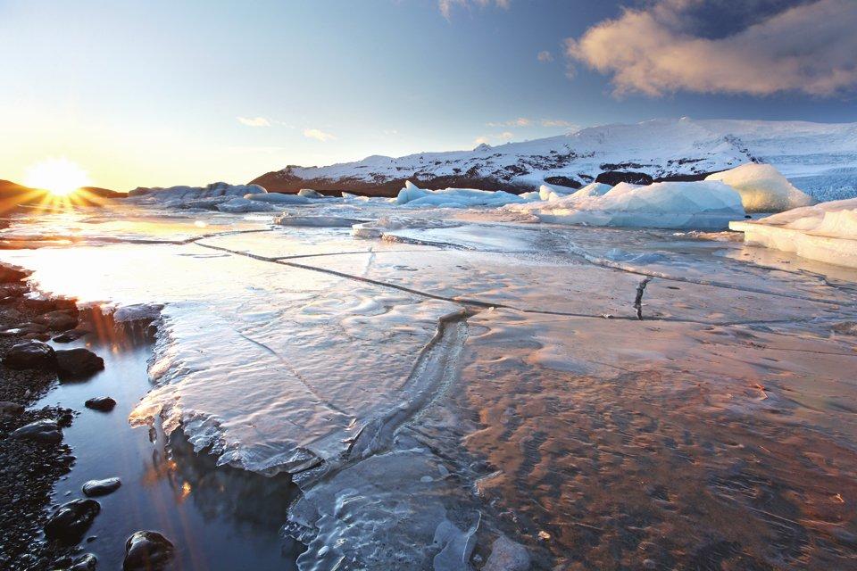 Vatnajokull, IJsland