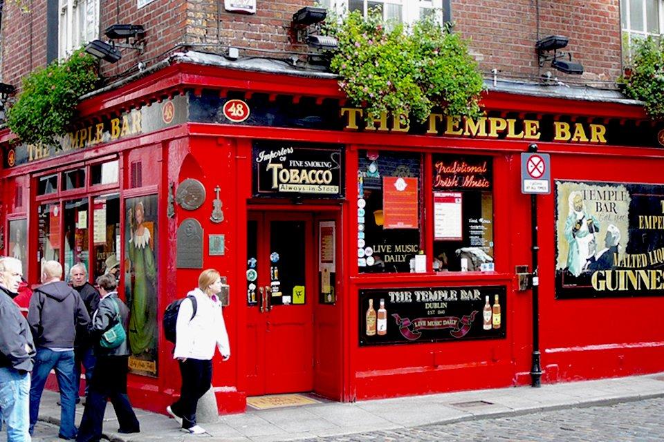 Temple Bar in Dublin, Ierland