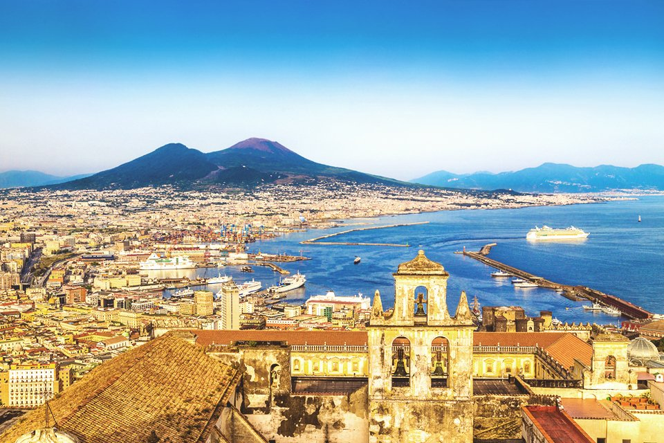 SRC-reizen: Napels en Zuid-Italië