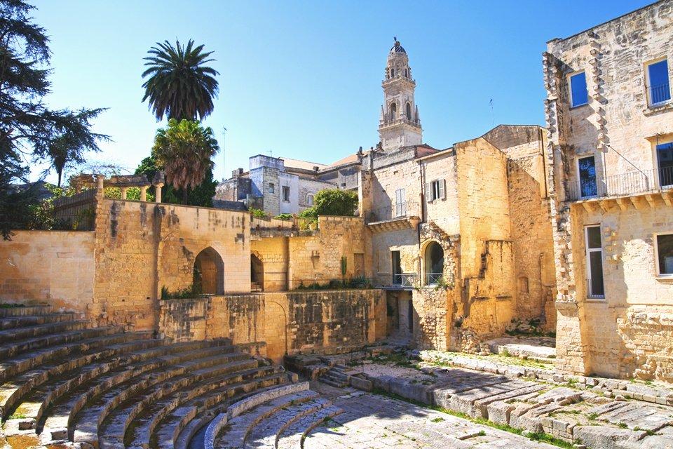 Lecce in Puglia, Italië