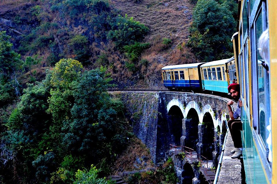 Boemeltreintje Shimla, India