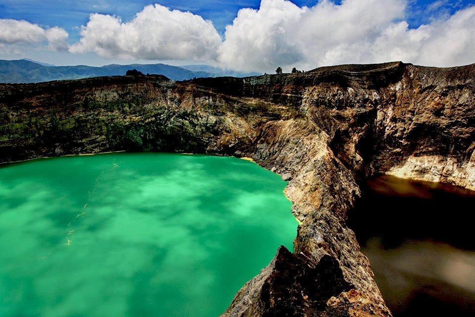 Kratermeren, Indonesië