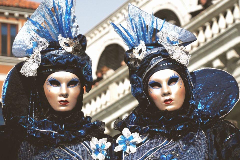 Carnaval in Venetië, Italië