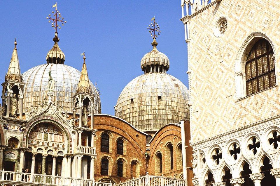 San Marcokerk in Venetië, Italië