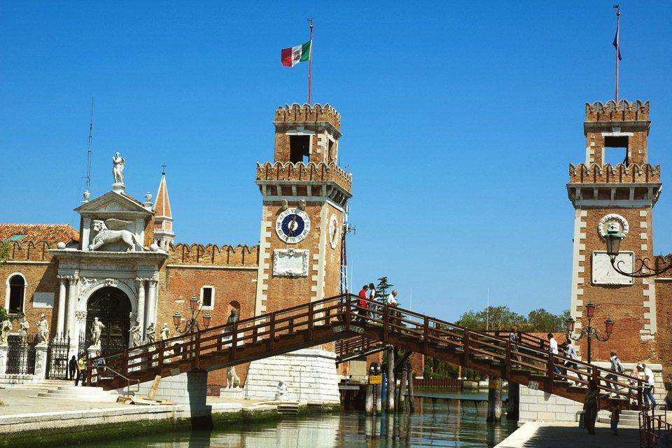 Arsenale in Venetië, Italië
