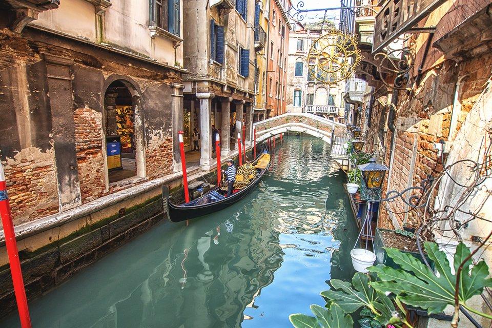 Kanaaltje van Venetië, Italië