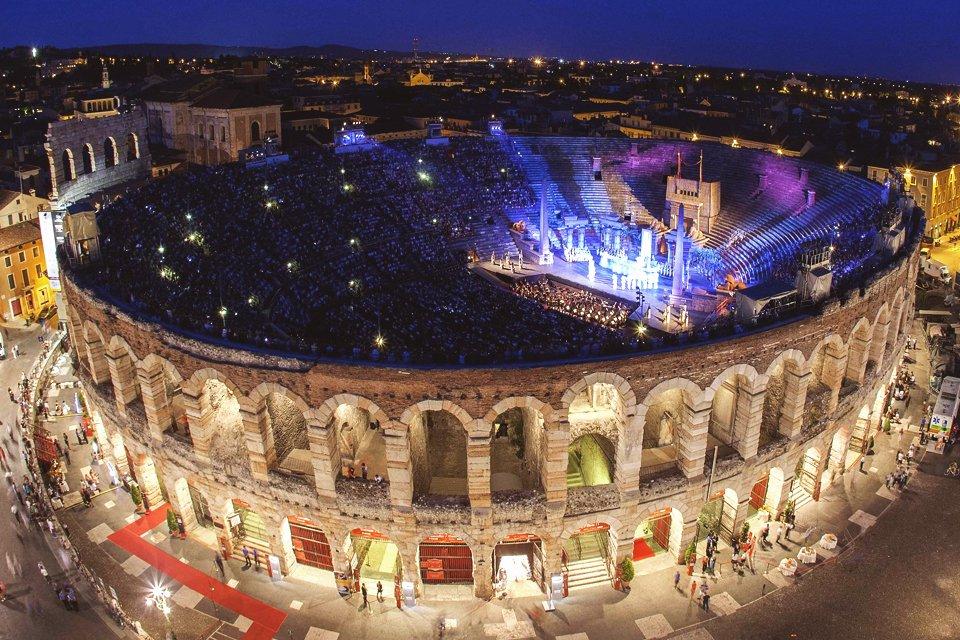 Arena van Verona, Italië