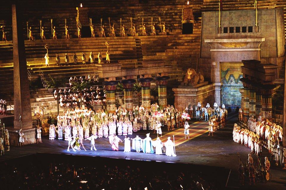 Opera in Verona, Italië