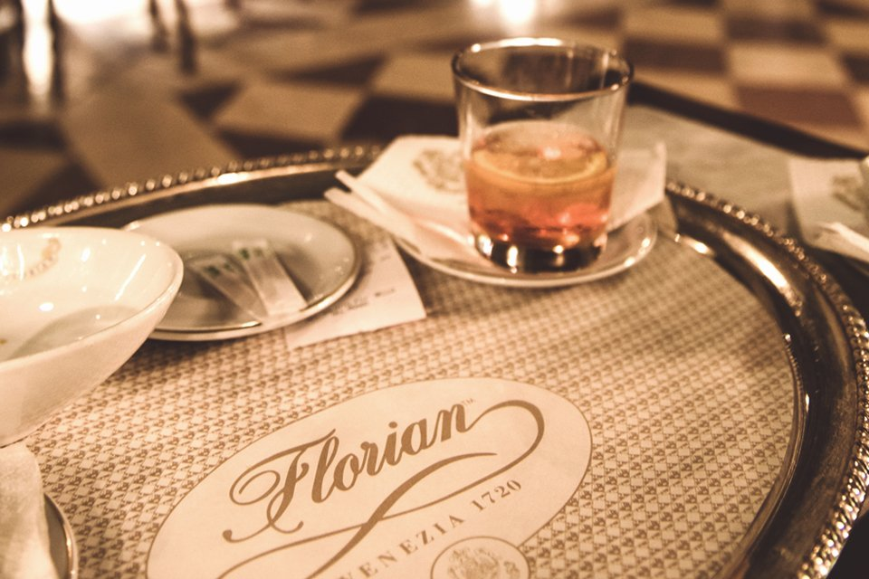 Café Florian in Venetië, Italië