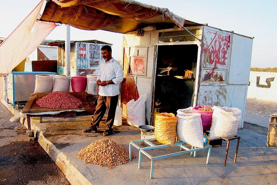 Marktstalletje, Iran
