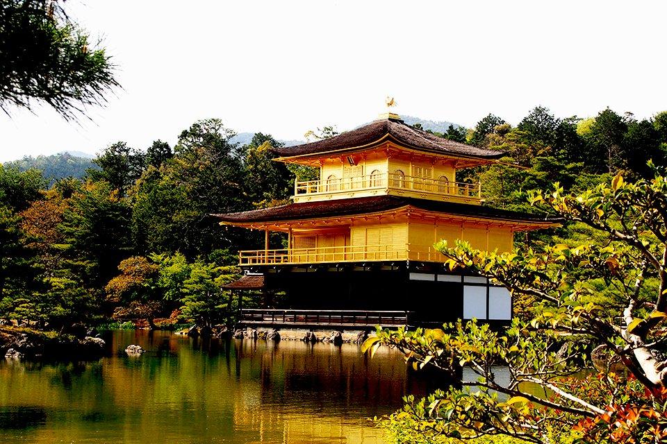 Gouden Paviljoen, Japan