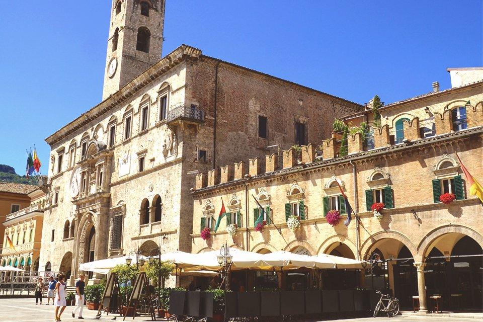 Ascoli Piceno in de Marken, Italië