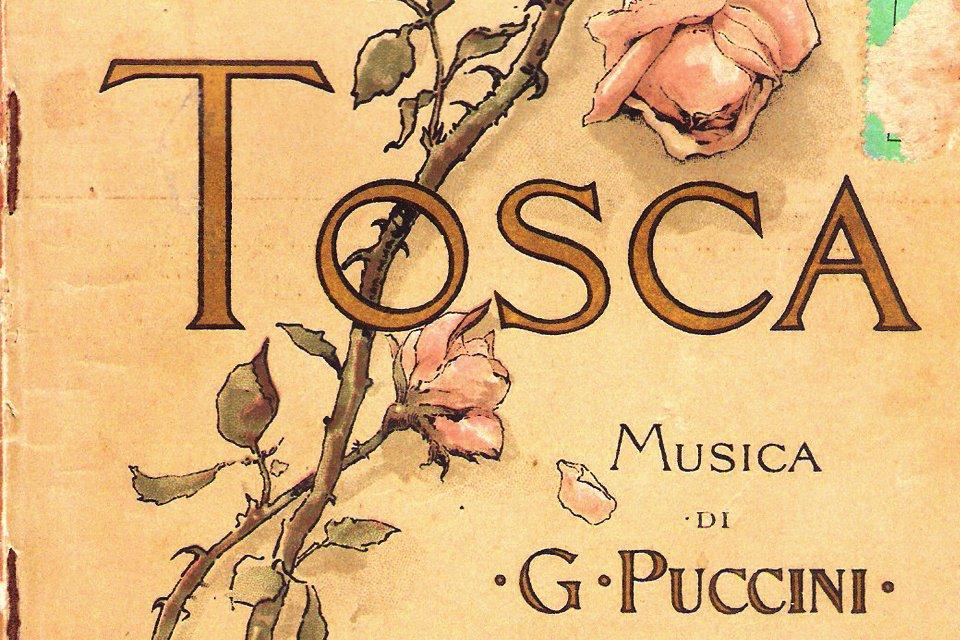 Affiche van Puccini, Italië