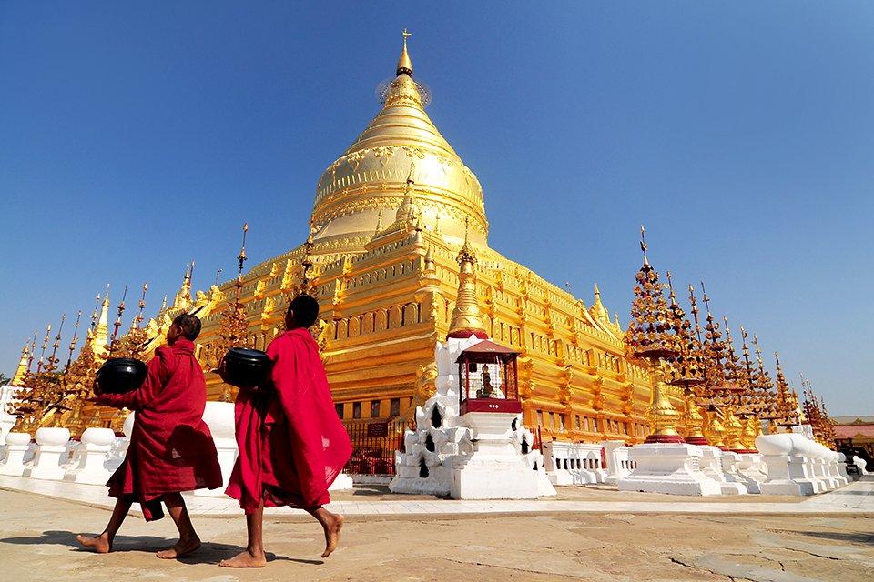 Schwedagonpagode, Myanmar