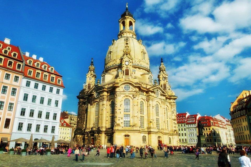 Frauenkirche in Dresden, Duitsland