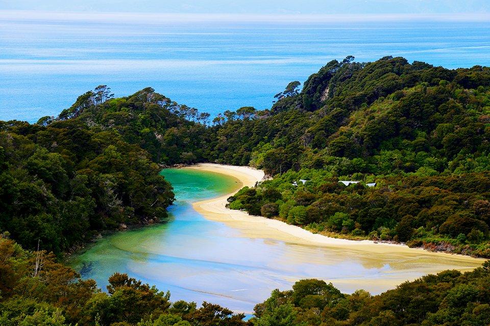 Abel Tasman N.P., Nieuw-Zeeland