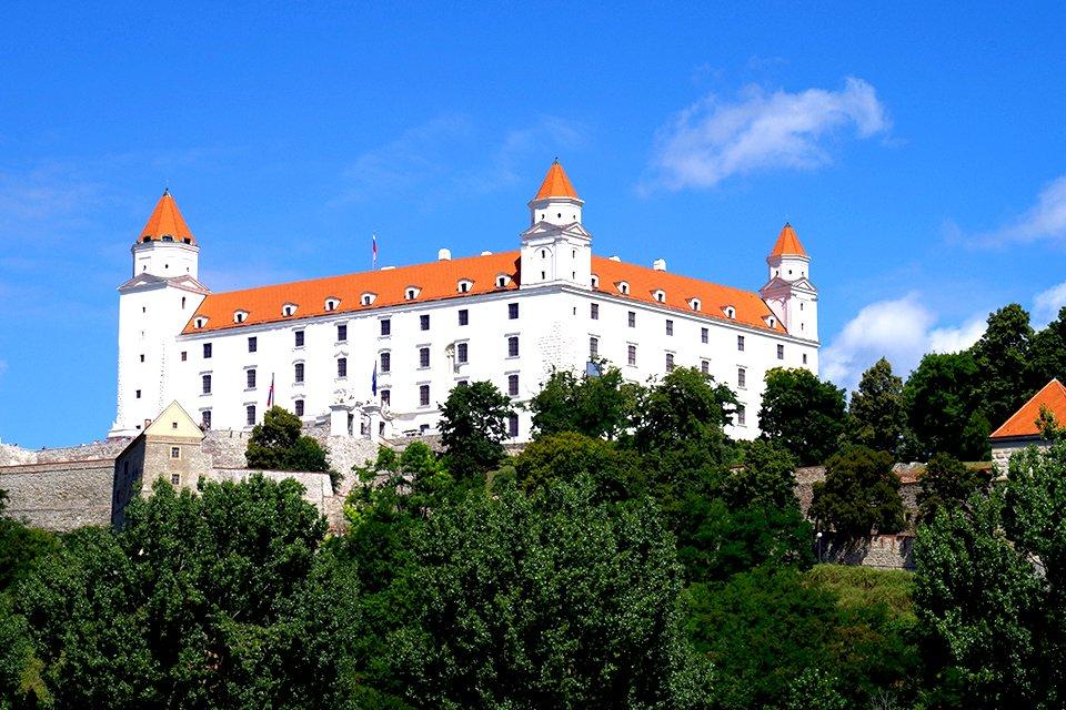 Kasteel Bratislava, Slowakije