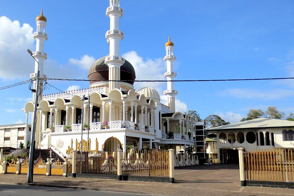 Moskee Paramaribo, Suriname
