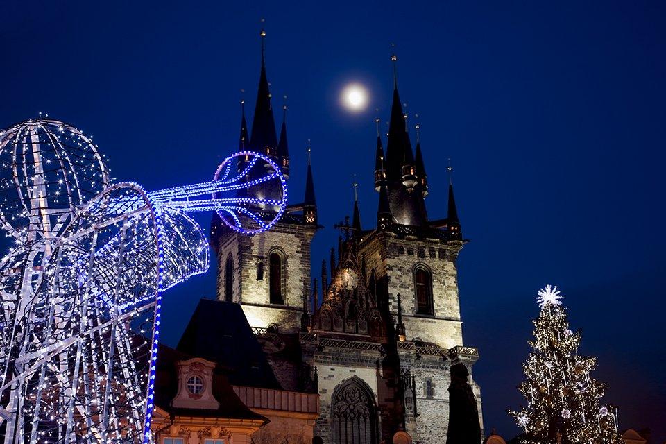 Kerstengel Praag, Tsjechië