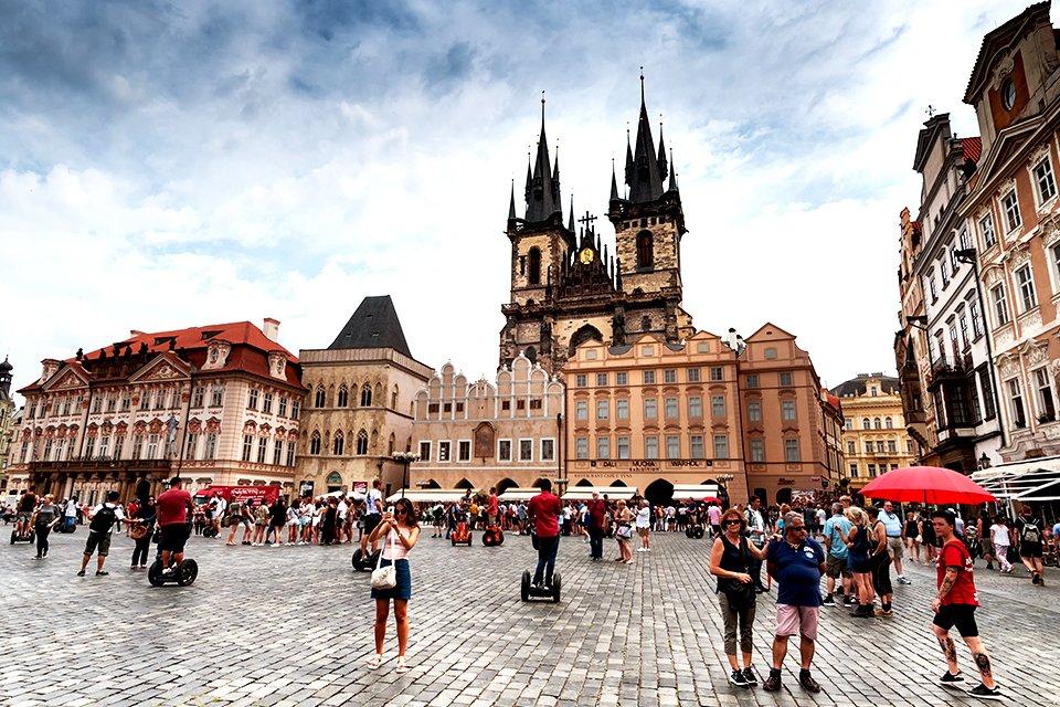 Stadsplein Praag, Tsjechië