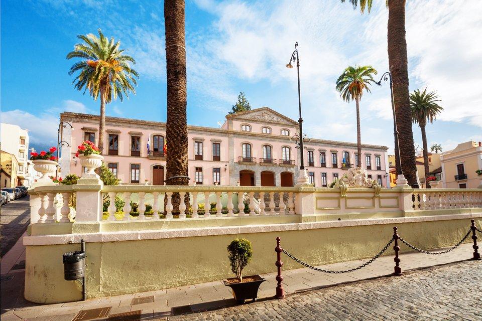 La Orotava op Tenerife, Spanje