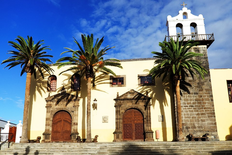 Franciscanerklooster in Garachico op Tenerife, Spanje