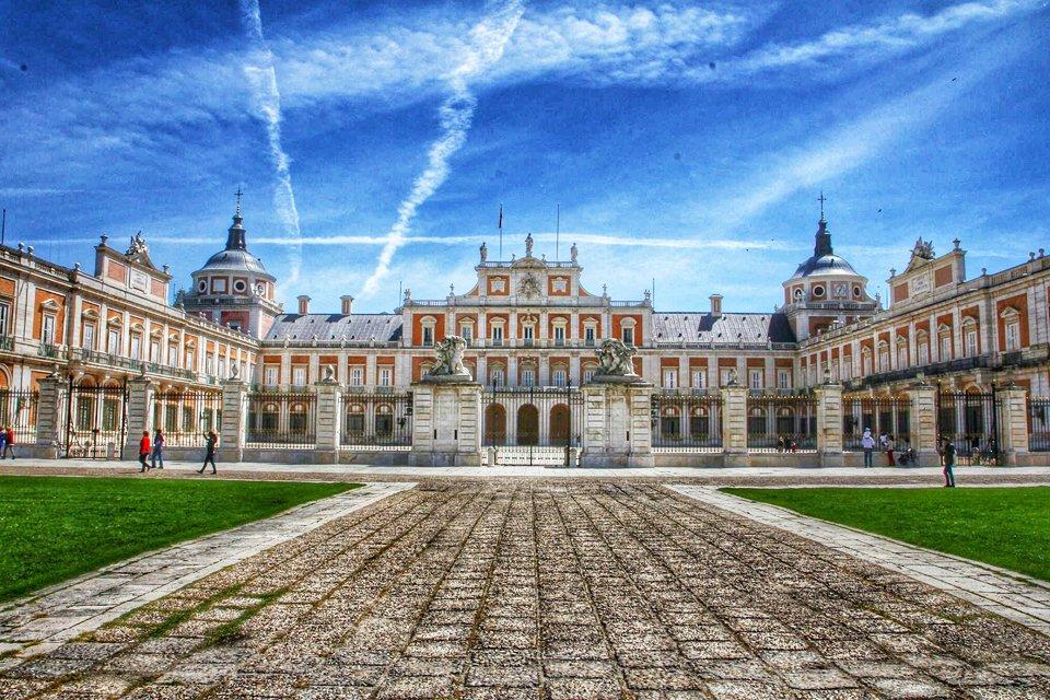 Het paleis van Aranjuez, Spanje