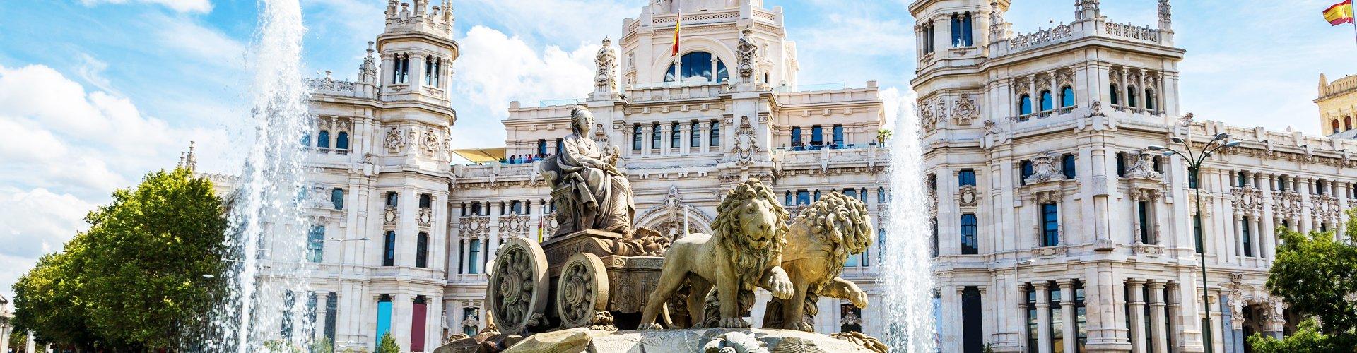Madrid en Castilië, Spanje