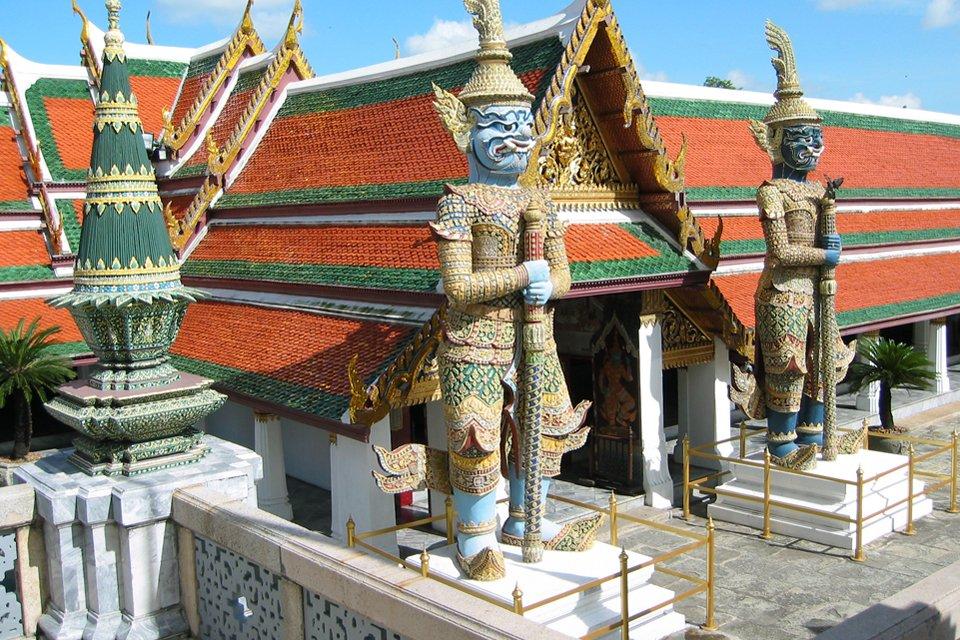 Koninklijk paleis in Bangkok, Thailand