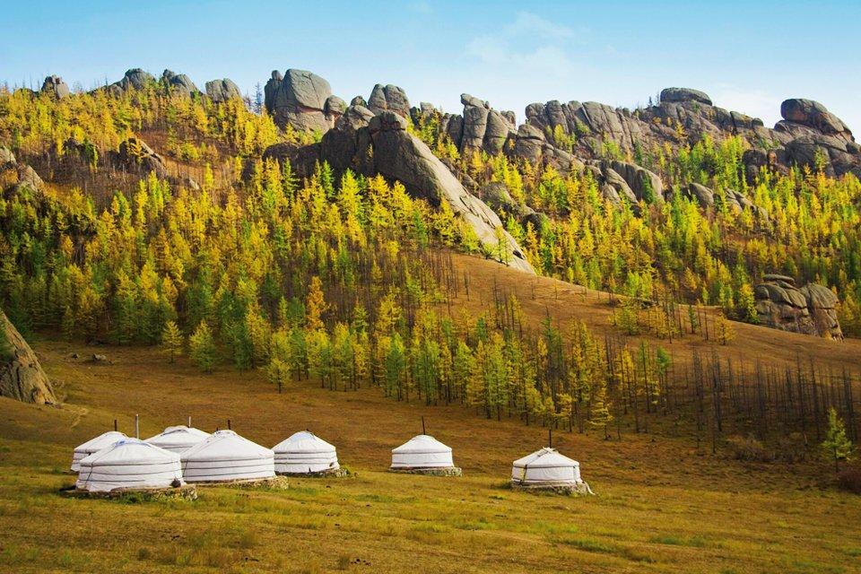 Ger Kamp, Mongolië