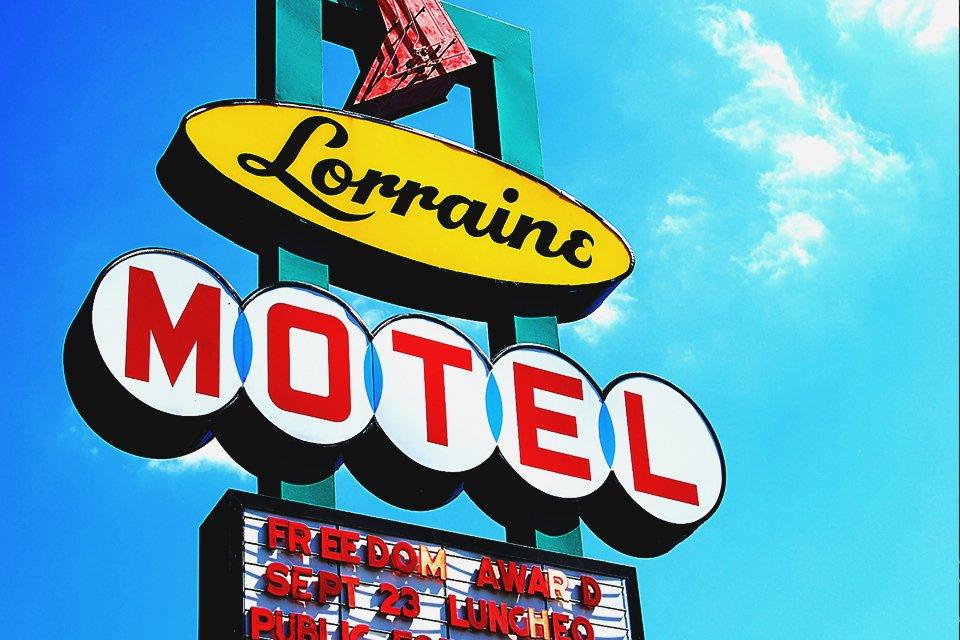 Lorraine Motel in Memphis, Amerika