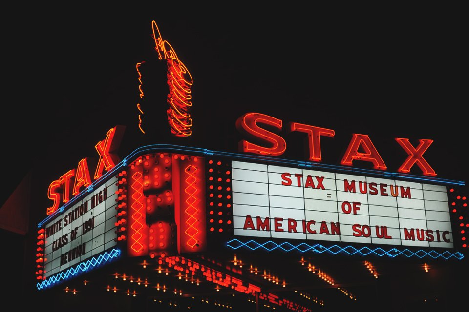 Stax museum of American soul, Amerika