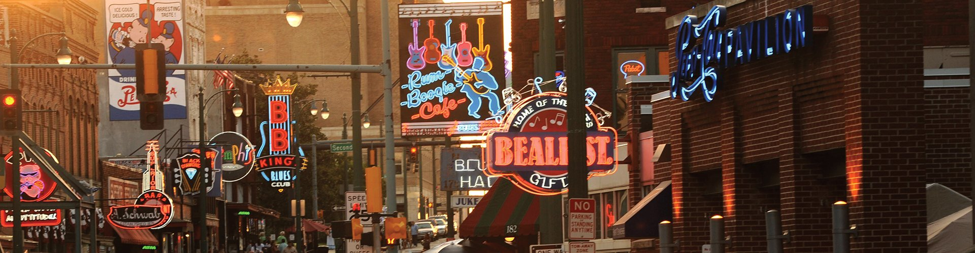 Beale Street Memphis, Amerika
