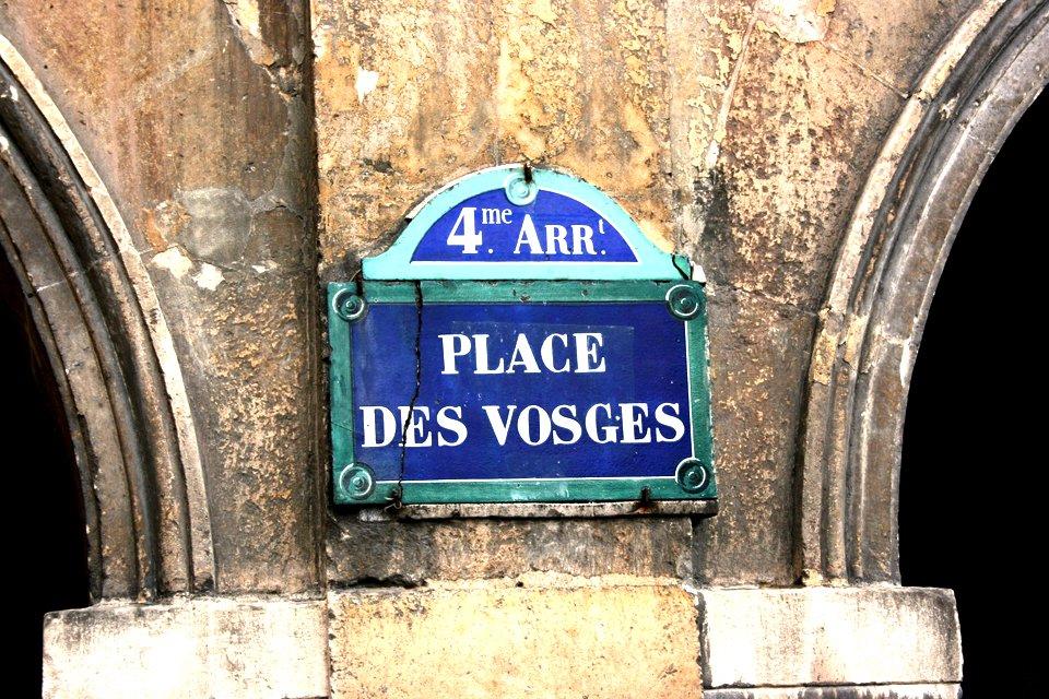 Place de Vosges, Frankrijk
