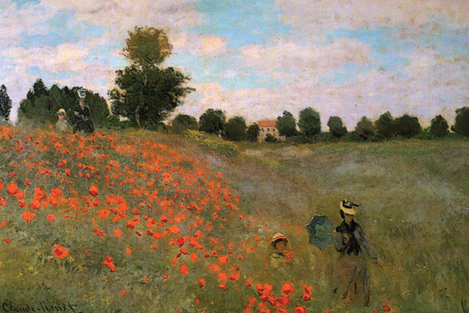 Coquelicots van Claude Monet, Frankrijk
