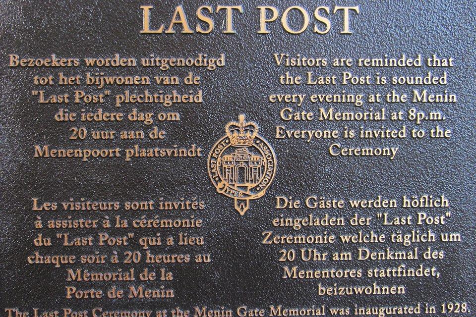Last Post, België