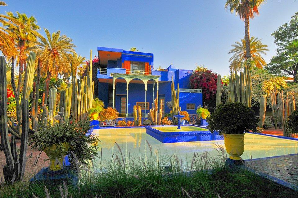 Tuin van Majorelle, Marokko