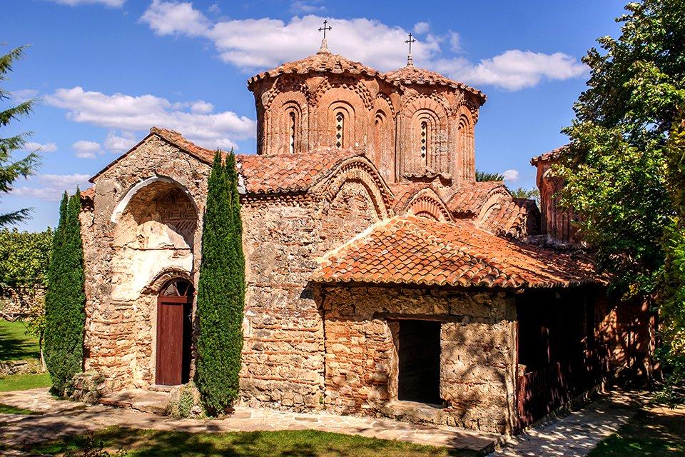 Klooster bij Strumica, Macedonië