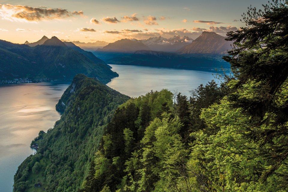 Vierwoudstrekenmeer, Zwitserland