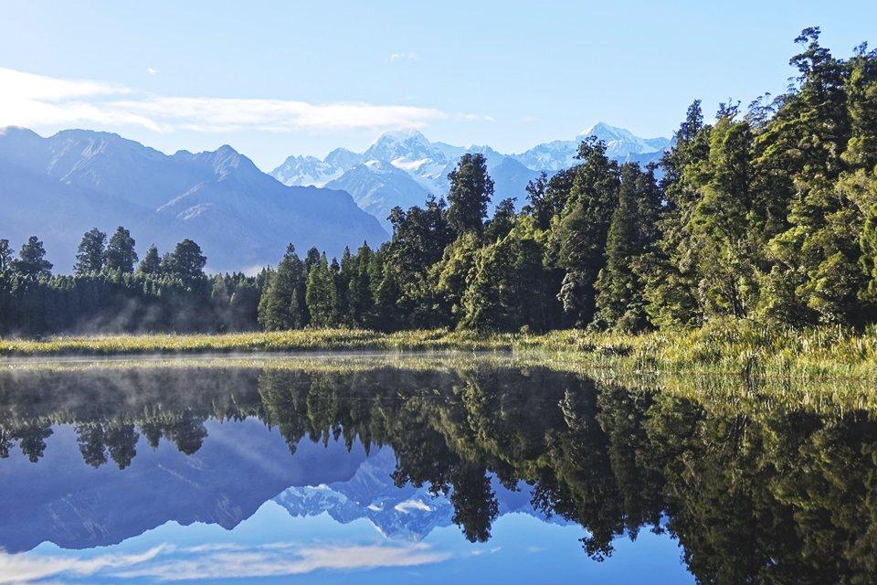 Lake Matheson, Nieuw Zeeland