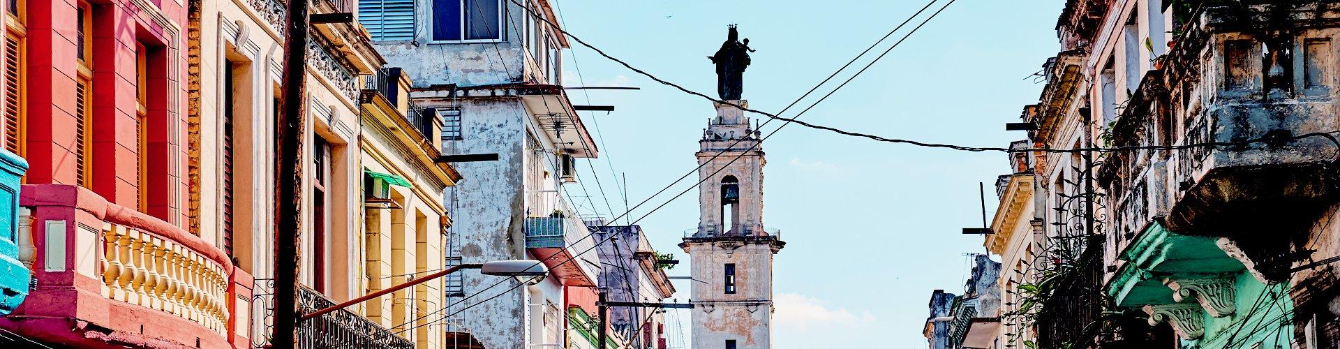 Straatbeeld Havana, Cuba