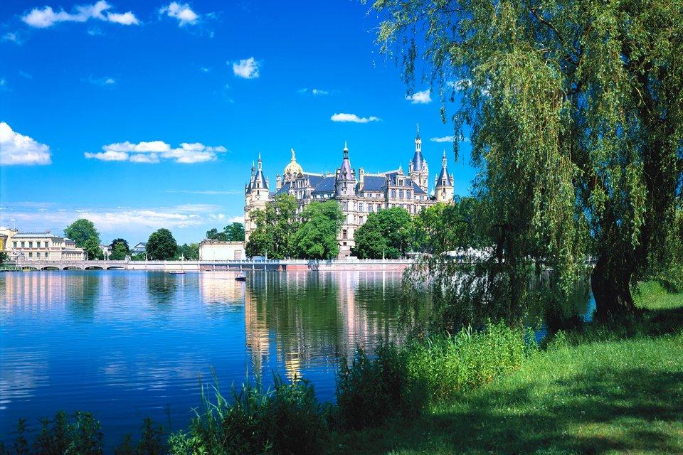 Schwerin groothertogelijk paleis, Duitsland