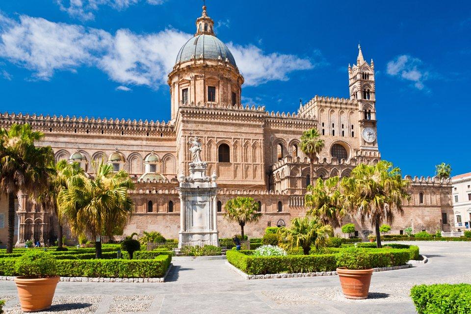 De dom van Palermo, Italië