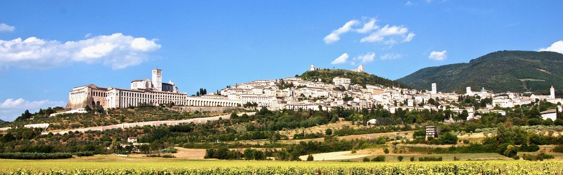 Assisi in Umbrië, Italië