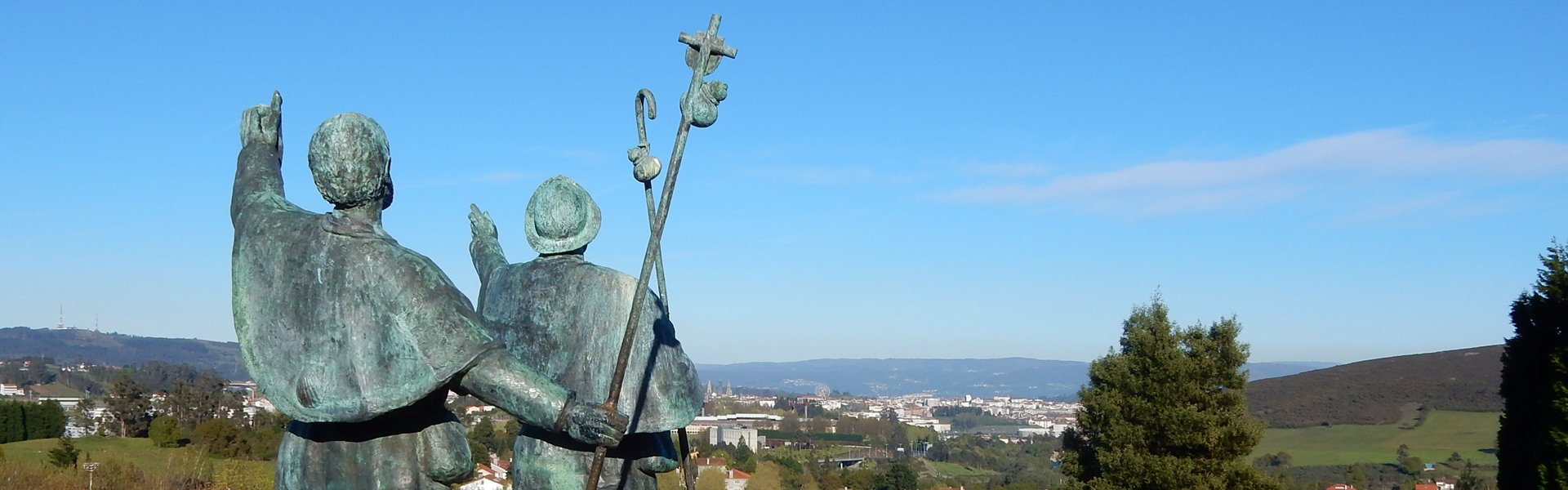 Pelgrimsroute Compostela, Spanje