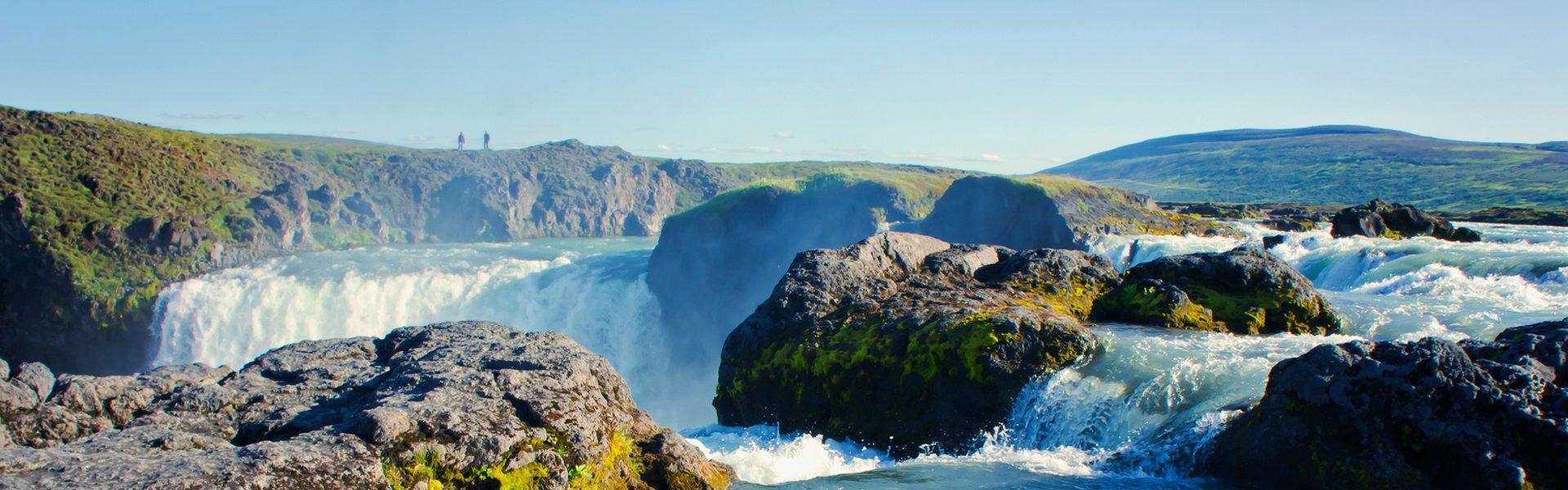 Gullfoss in IJsland