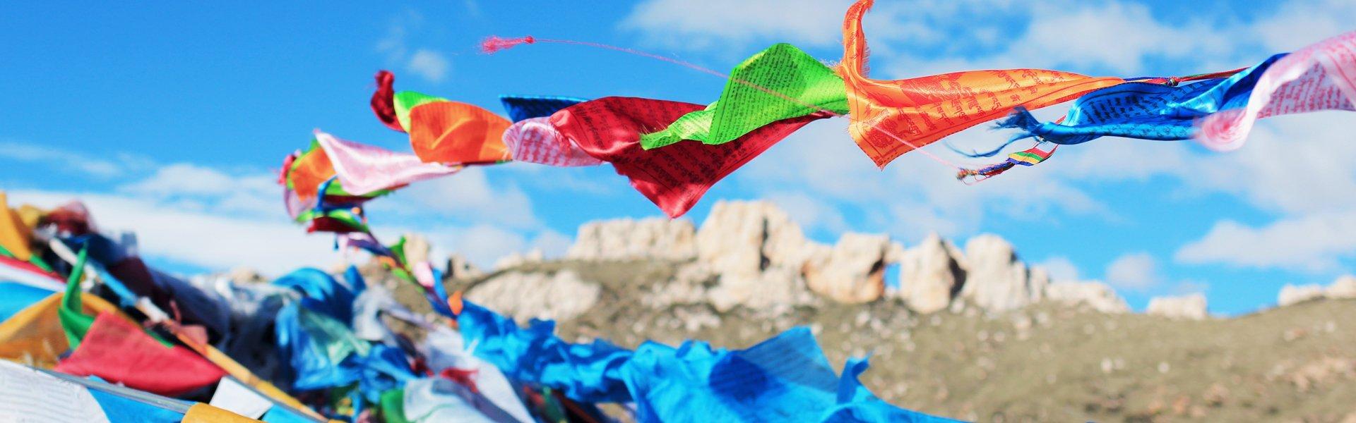 Gebedsvlaggetjes, Bhutan