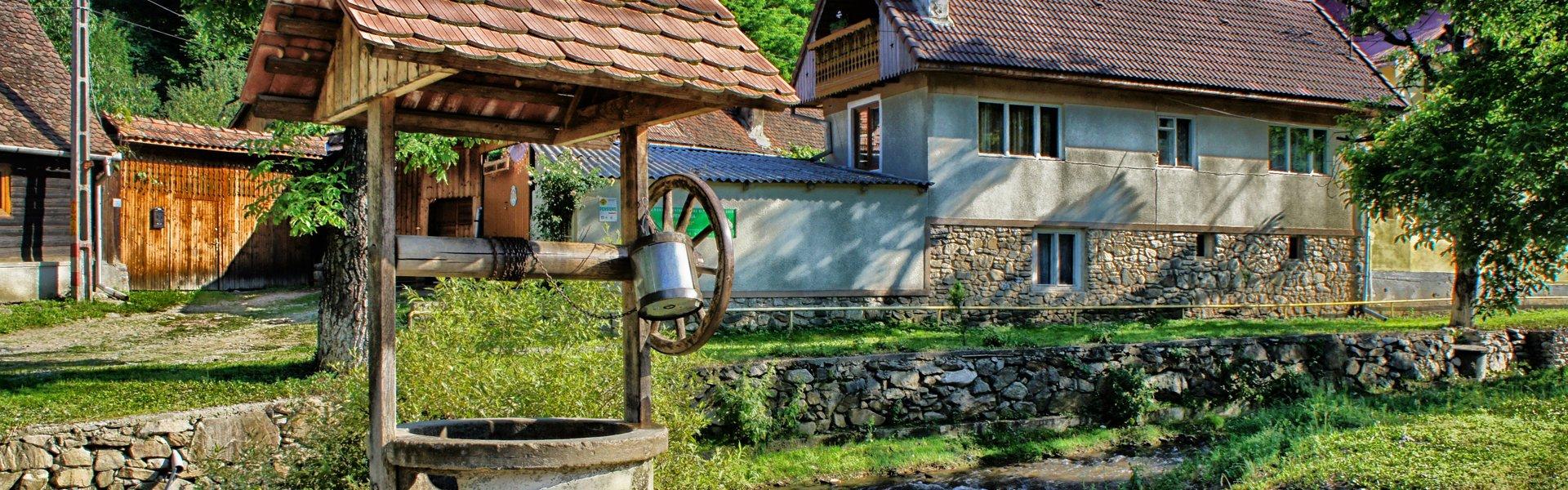Sibiel in Roemenië