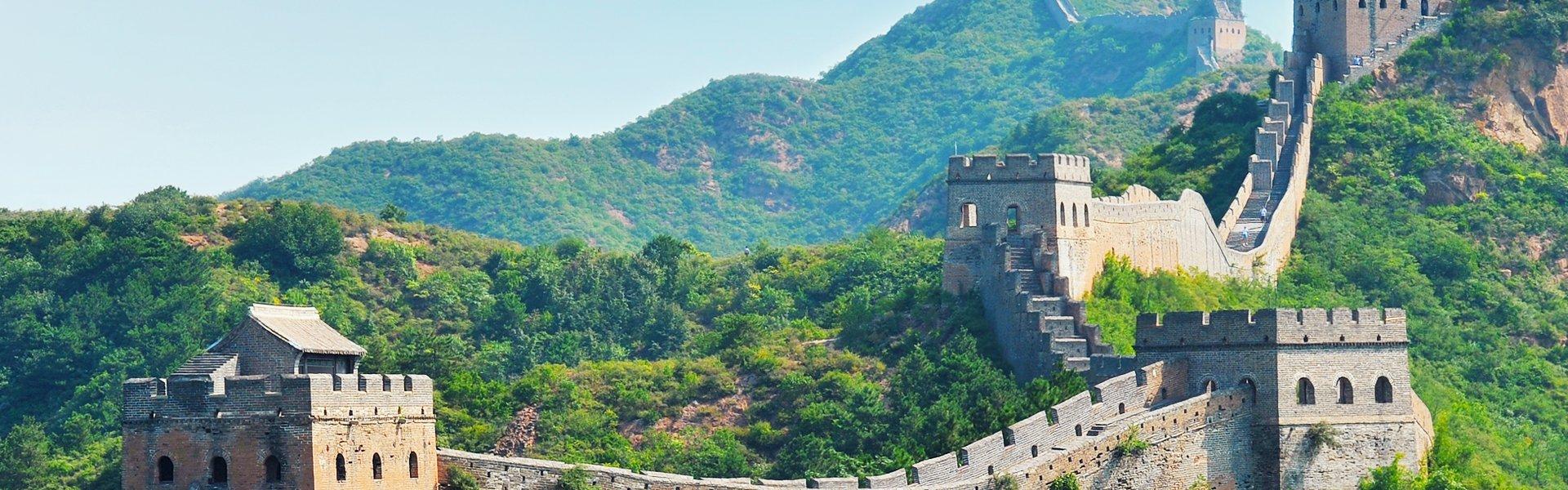 De Chinese muur, China
